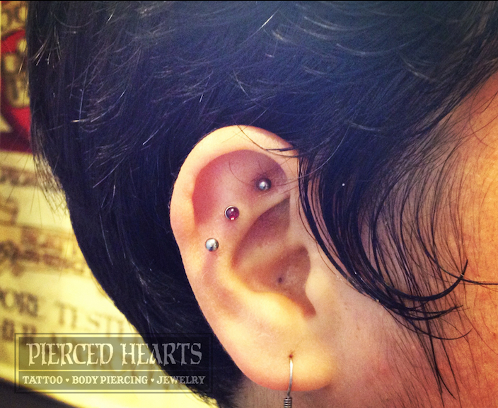 TRIPLE HELIX & EARLOBE