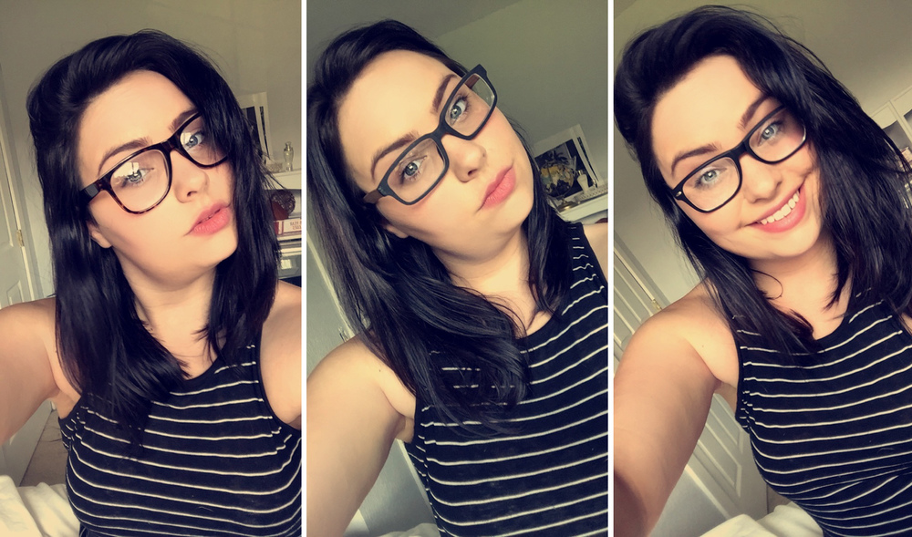 i am in love with all three frames i have a hard time picking between them and now i dont want to put my contacts in in the morning - Zenni Frames
