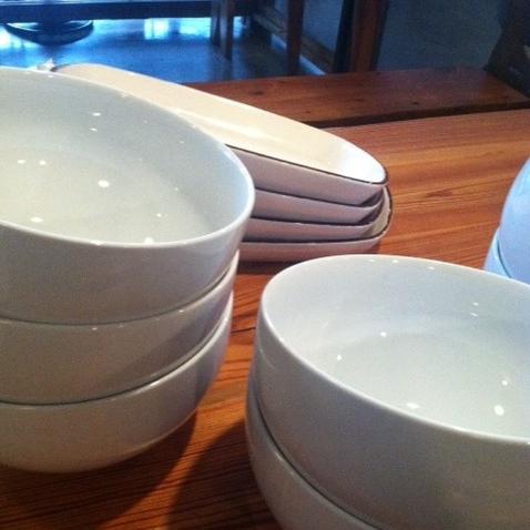 Pasta Bowls - check