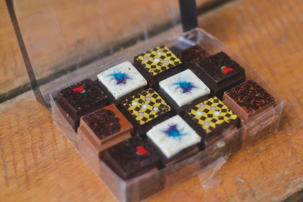 Chocolates by Jamie Oliver Kemp