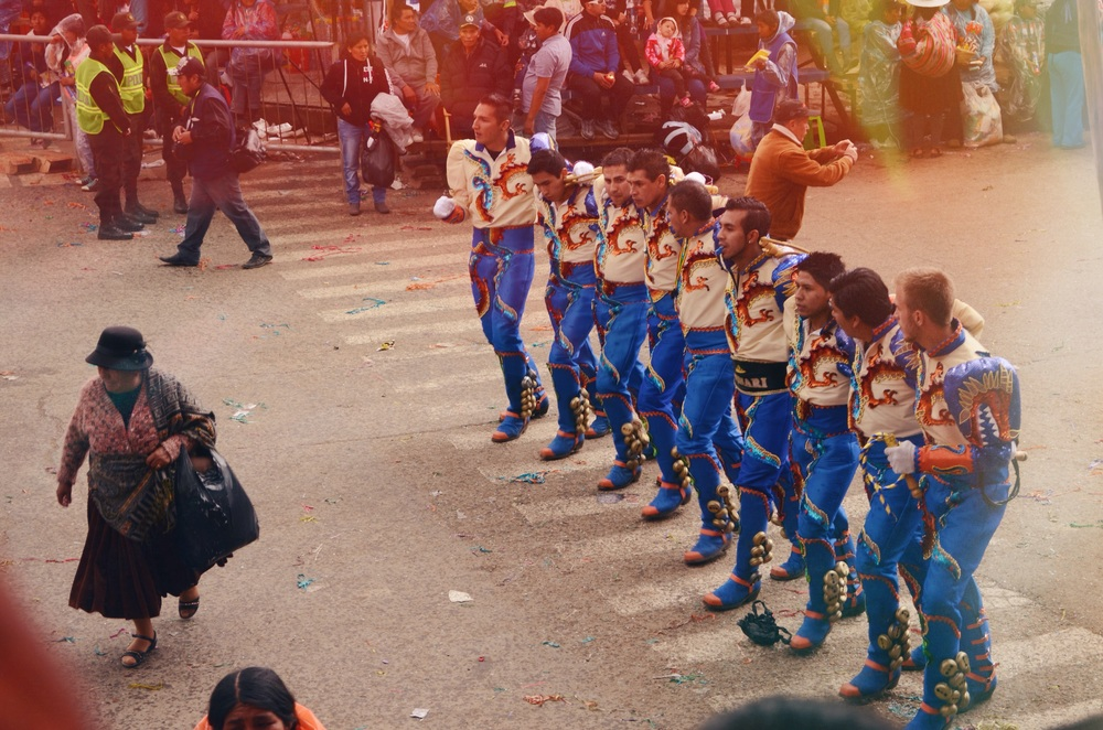Caporales, a dance created in the 1960s in Bolivia, and 2011 declared Intangible Cultural Heritage of the Plurinational State of Bolivia // 15 february 2015