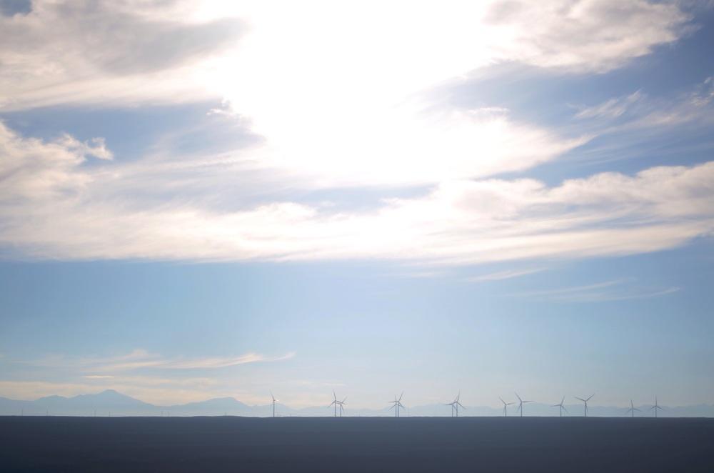 Windmills, Atacama Desert // 16 april 2015