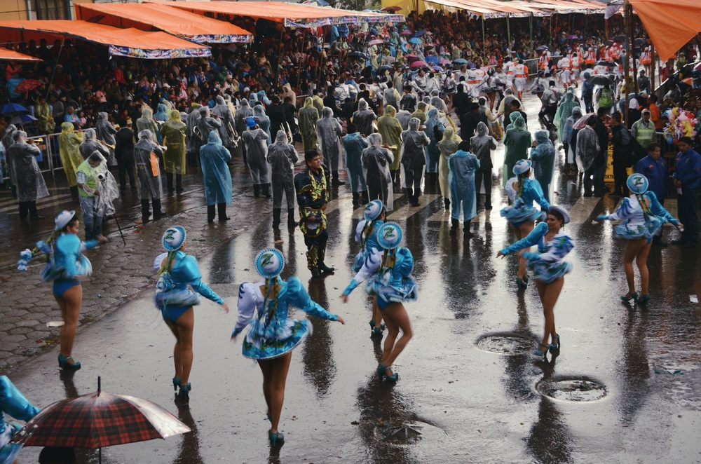 For part of the time it rained, poured, and hailed, and the Carnaval went on // 15 february 2015