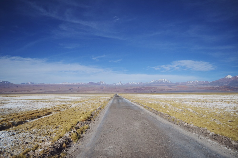 Road to Chaxa Lagoon and Salar de Atacama // 17 abril 2015