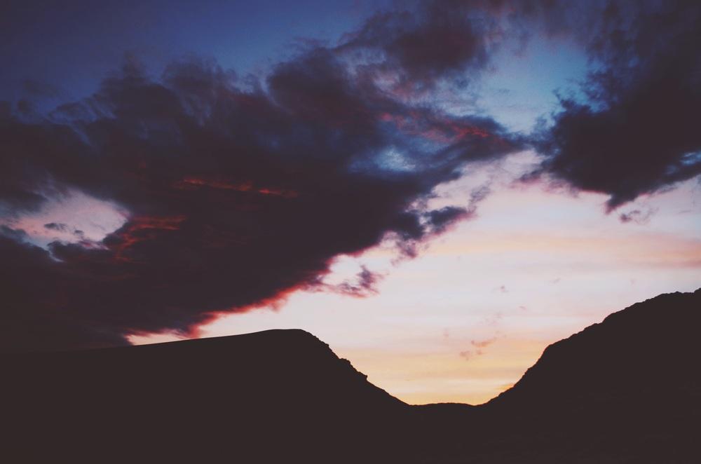Sunset at Valle de la Luna // 18 april 2015