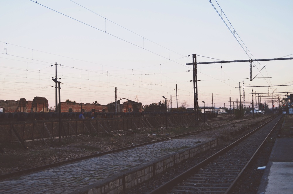 train yard in Talca // 4 may 2015