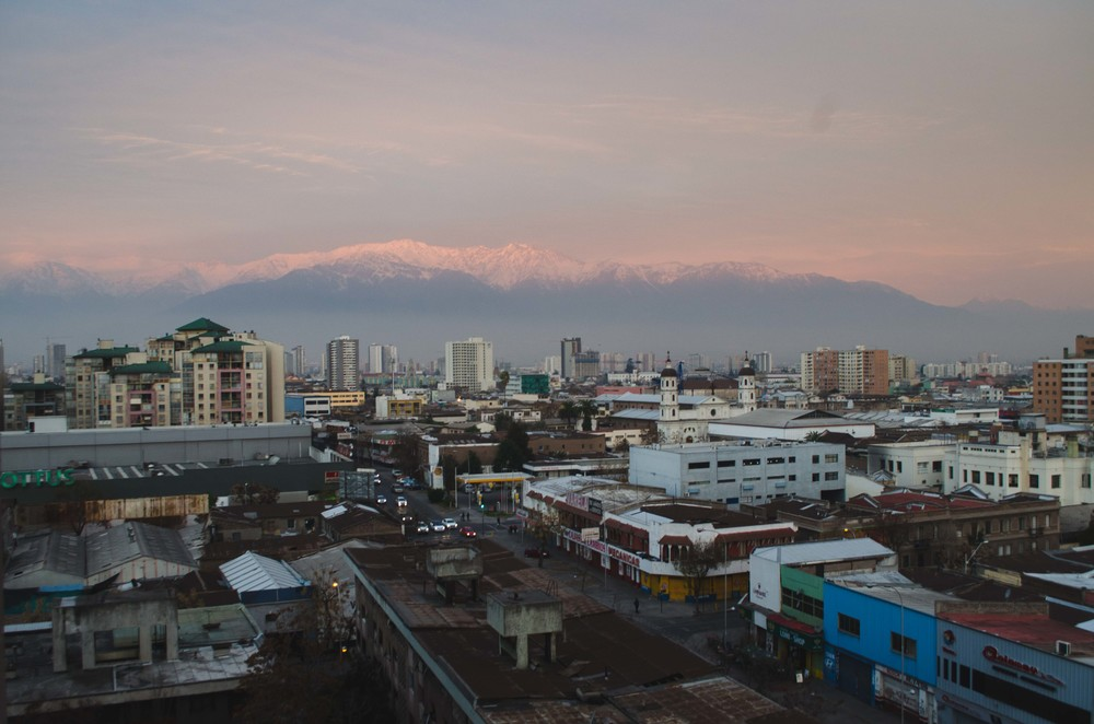 dusk on the Andes mountains // 18 july 2015