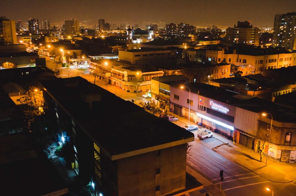 the street below, calle diez de julio