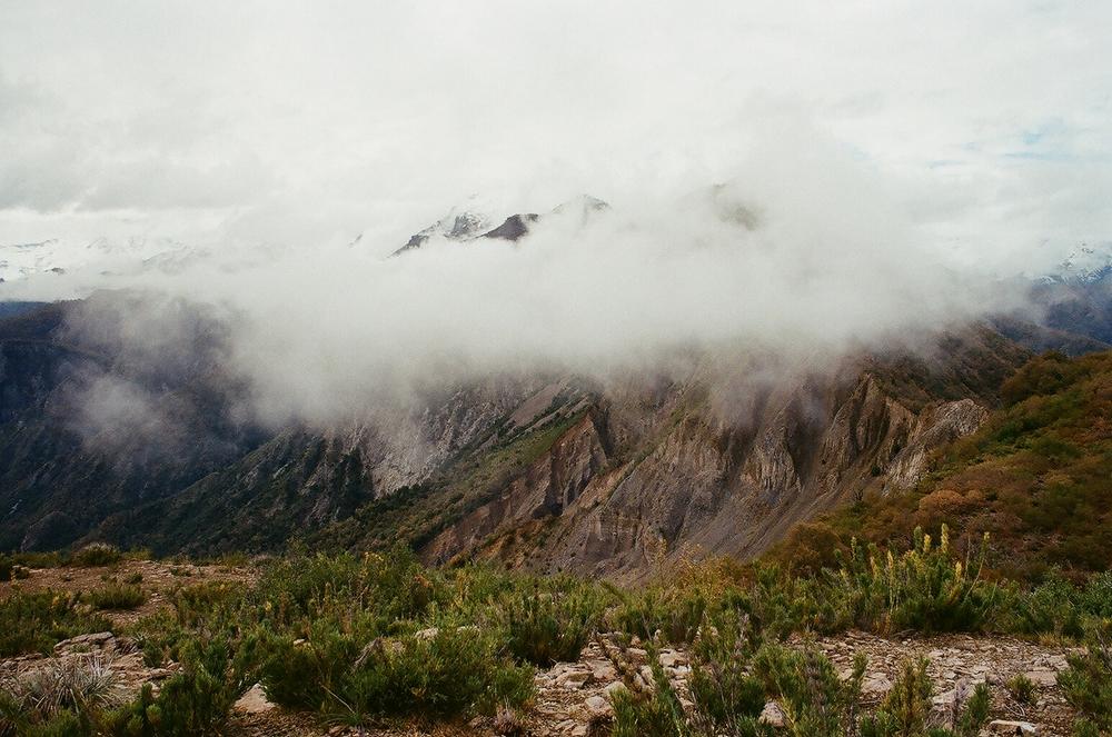 Fog & Mountain