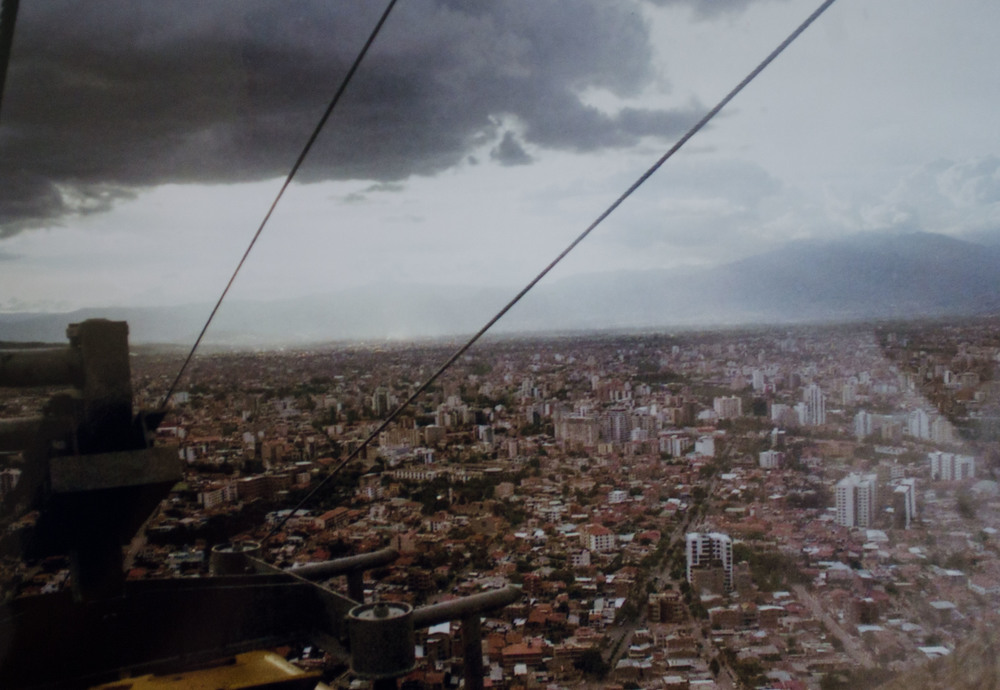 view from the cable car in Cochabamba // february 2015