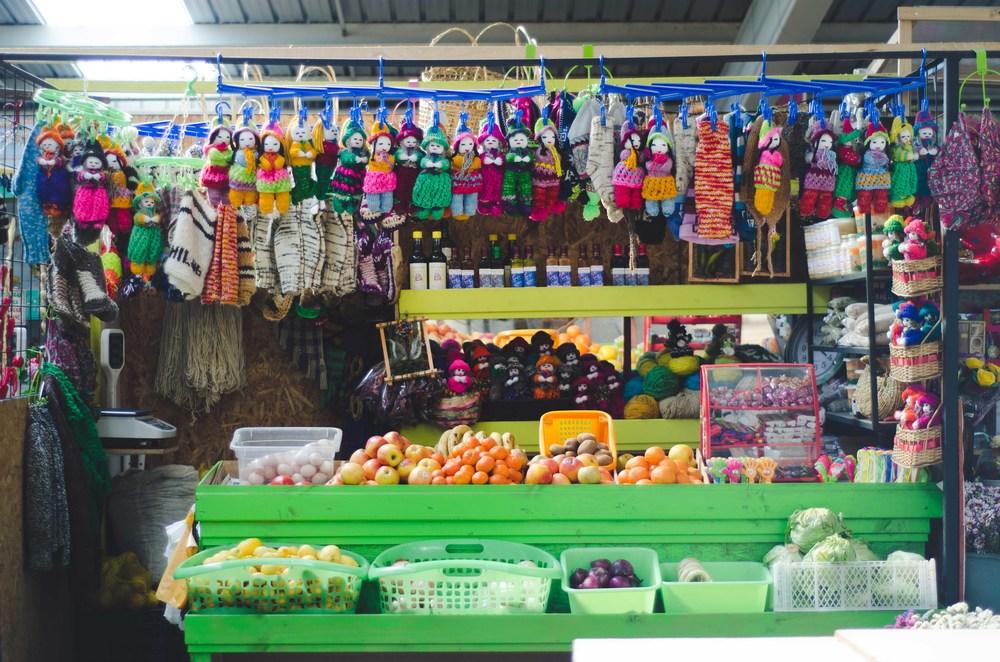 market in Castro