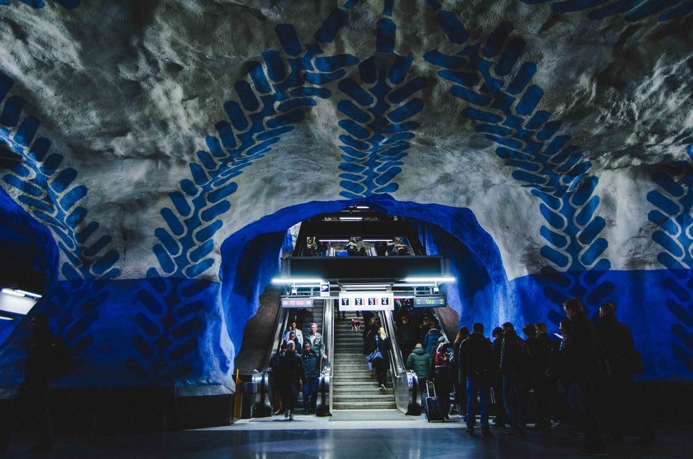 Favorite. Stockholm metro.