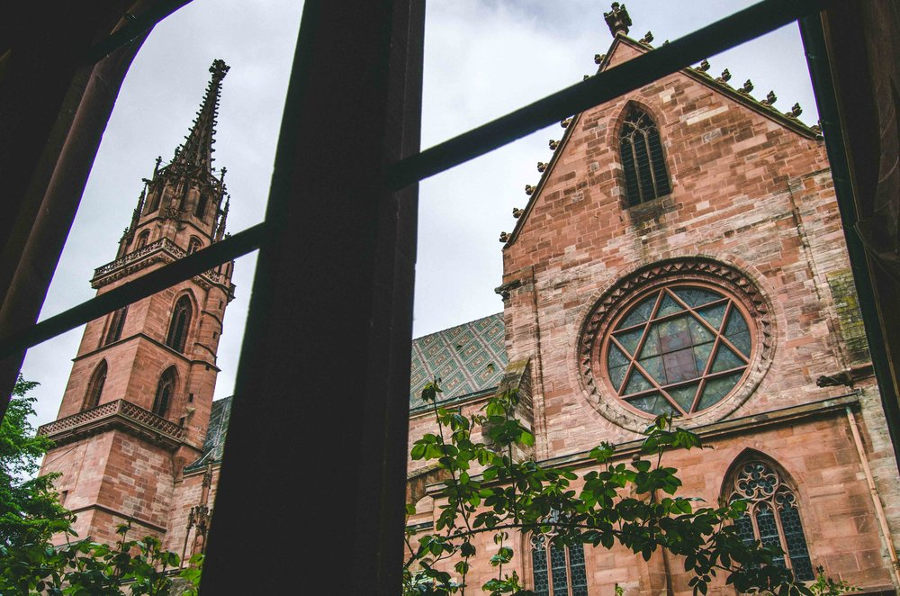 Basel Minster // Gothic Cathedral