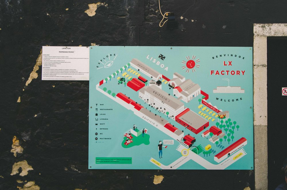 Map of LX Factory