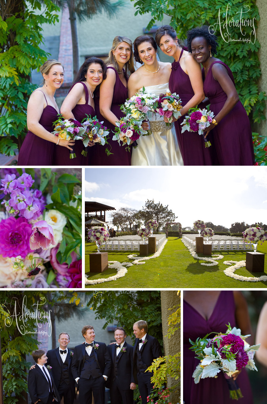 Colin Cowie Colin Cowie Features Rula Stevens Lodge At Torrey Pines Wedding
