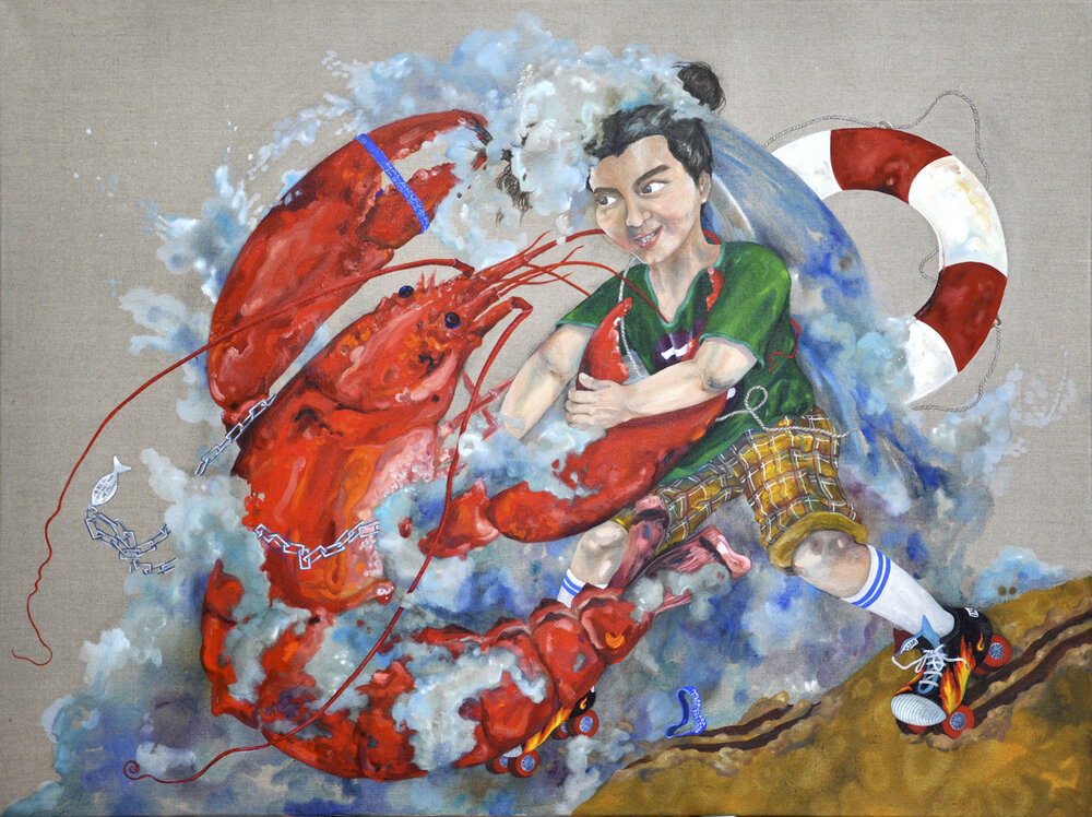 Dragon King and Nezha  /  海龍王與哪吒