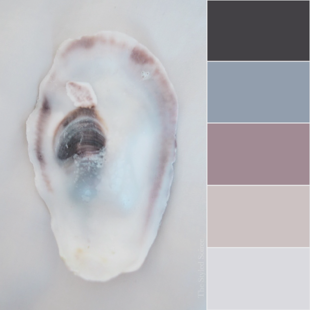 Oyster Shell Wedding Color Palette Inspiration from The Styled Soiree