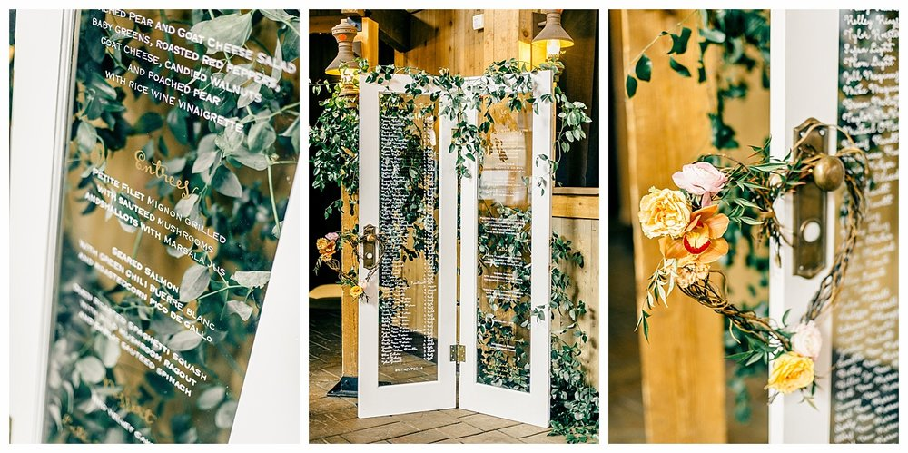 Wedding-Menu-Calligraphy-French-Doors