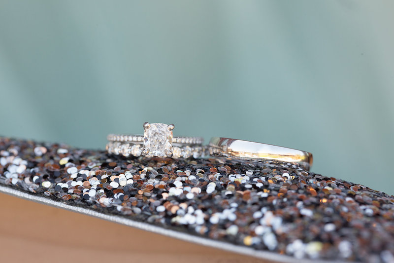 How to ensure gorgeous ring photos on your wedding day by The Styled Soiree, photo by  Jamie Beth Photography