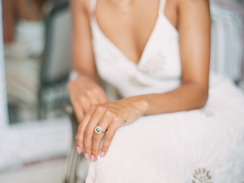 Beautiful rough diamond ring from  Sarah O. Jewelry , styled by The Styled Soiree and photographed by  Rachel Gomez Photography