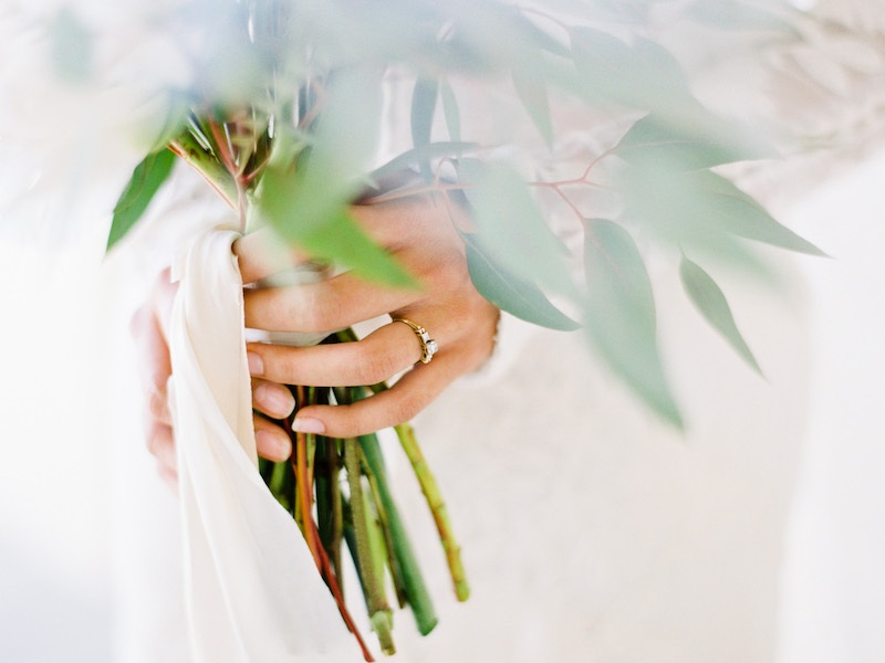 Dreamy ring shot while holding your wedding bouquet, The Styled Soiree,  MJM Designs, LLC  and  Rachel Gomez Photography