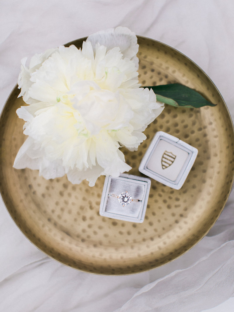 A gorgeous Susie Saltzman ring, styled three ways by The Styled Soiree and Michele with One L Photography