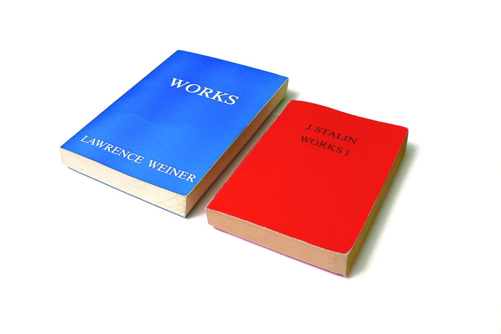 Works, Works 1, Twice,  collaboration with Micah Lexier, found books, 2008