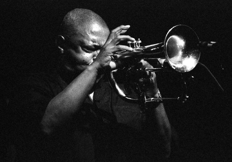 Hugh Masekela – singer, composer, trumpeter – in Washington D.C., 2007.