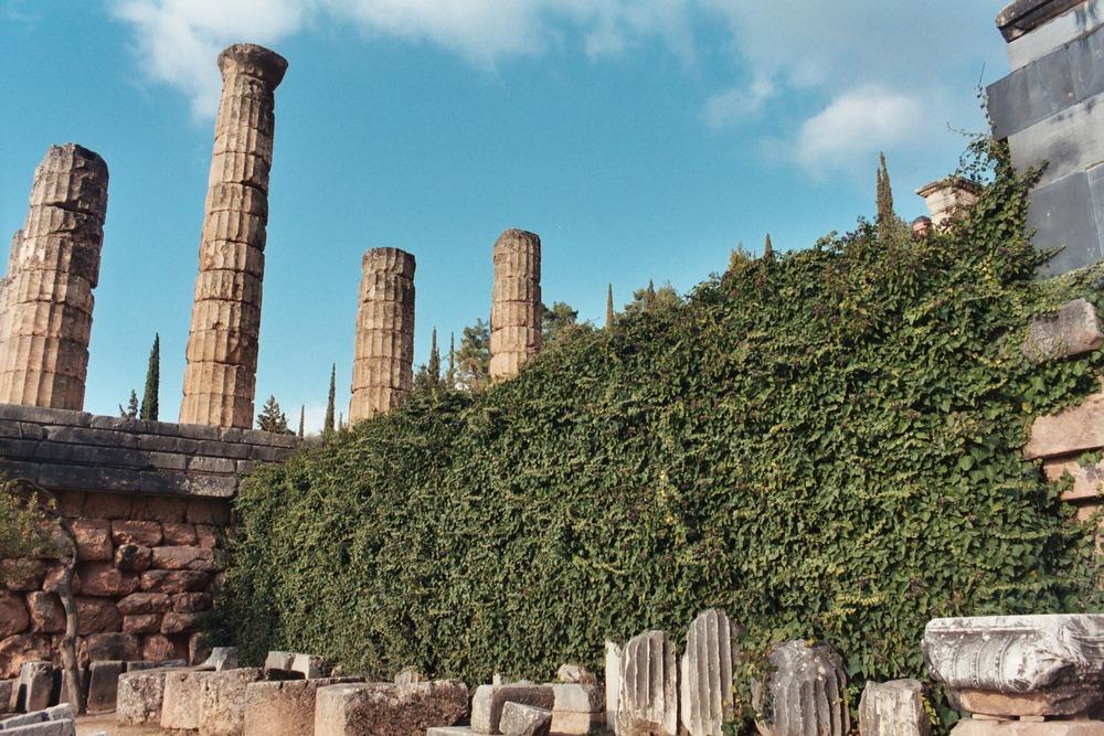 The Temple of Apollo at Delphi