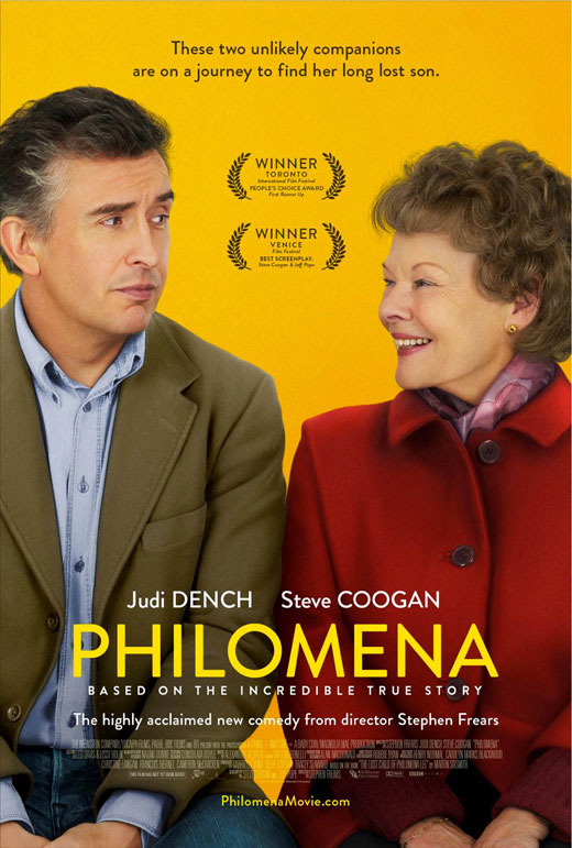 "Poster for the film ""Philomena"""
