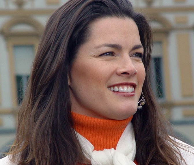 Nancy Kerrigan in Turin, Italy 2006. Photo by Gianluca Platania