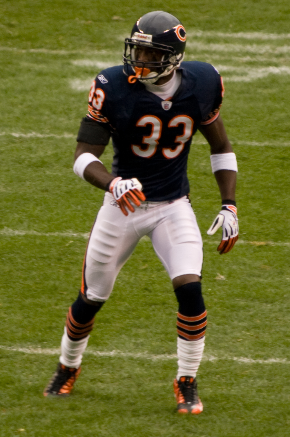 Charles Tillman, winner of this year's Walter Payton Man of the Year Award.