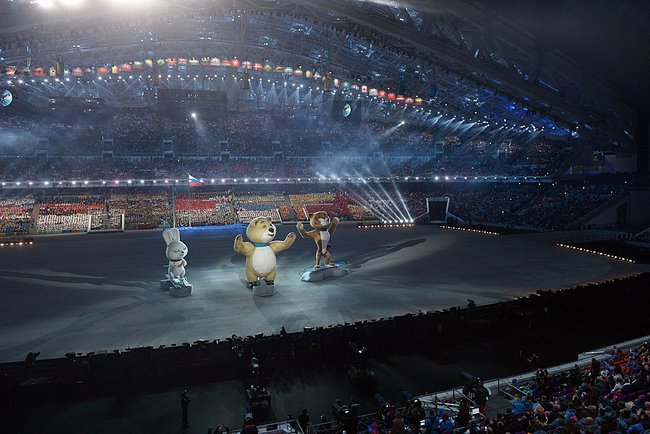 2014 Winter Olympics opening ceremony