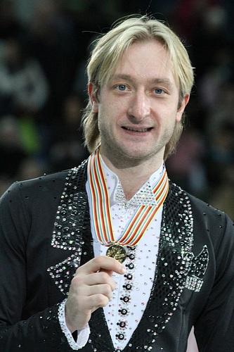 Evgeni Plushenko at the 2012 European Championships. Photograph by David W. Carmichael.