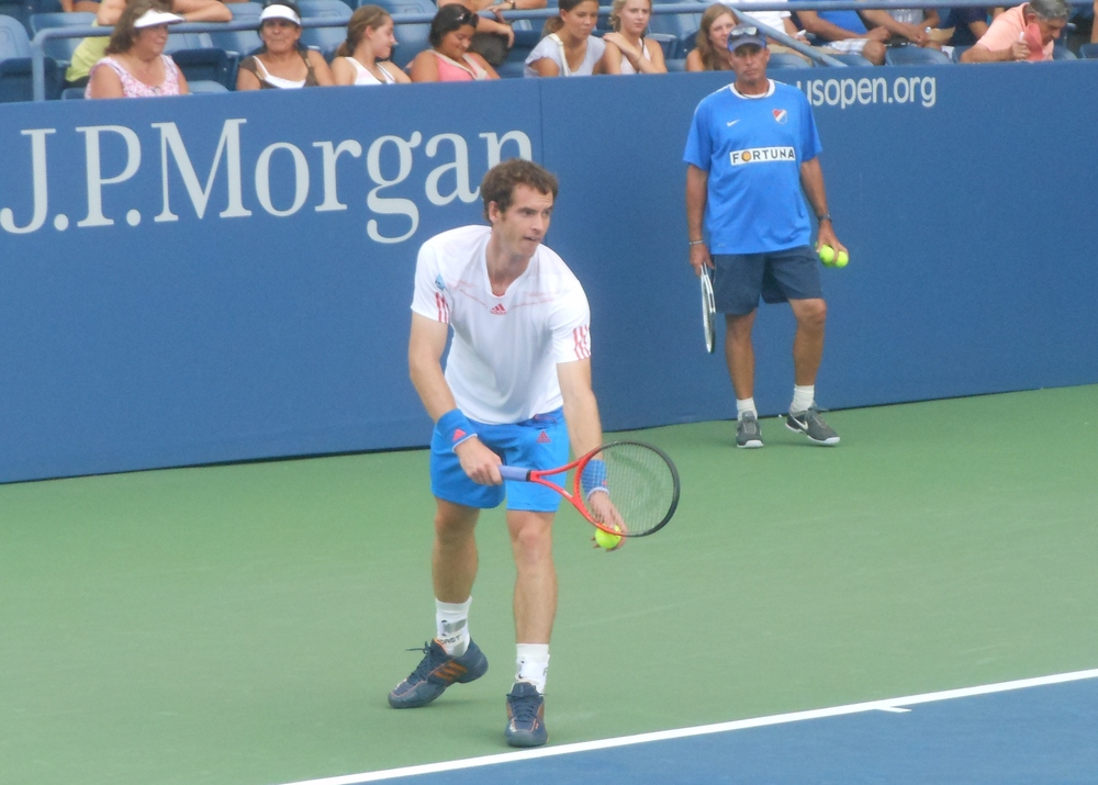 Andy Murray and Ivan Lendl at the U.S. Open in 2012, a sight we will see no more as the two have parted ways.