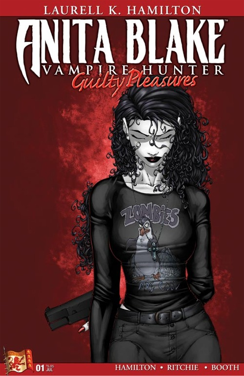 """""""Guilty Pleasures,"""" the first of the """"Anita Blake: Vampire Hunter"""" novels to be adapted into graphic form by Marvel Comics and Dabel Brothers Productions."""