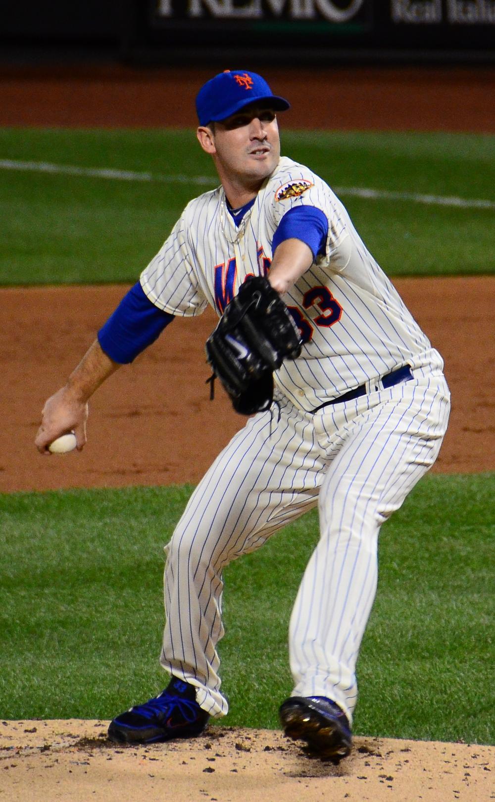 Matt Harvey in action in 2012