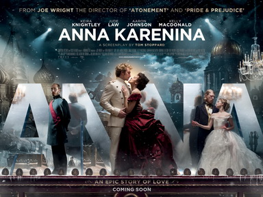 "Theatrical poster for the 2012 film ""Anna Karenina"""
