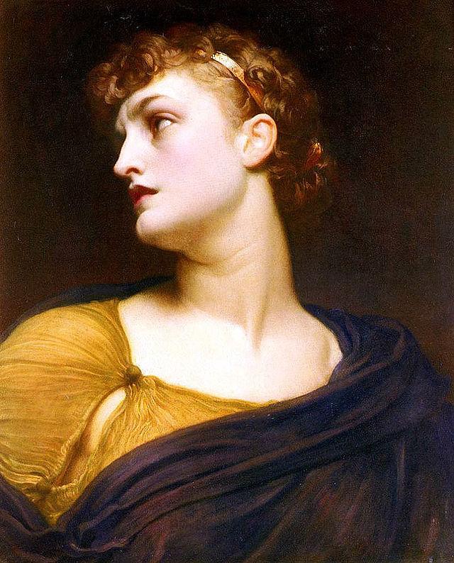 """""""Antigone"""" (1882) by Frederic Leighton"""