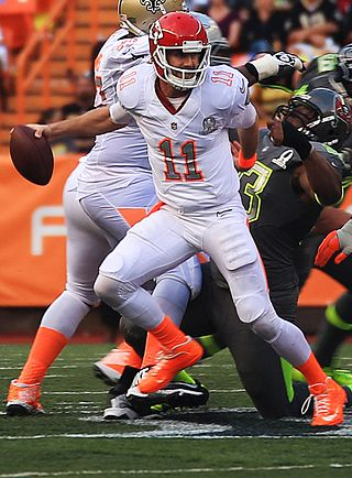 Alex Smith at the 2014 Pro Bowl. Photograph by Lance Cpl. Matthew Bragg.