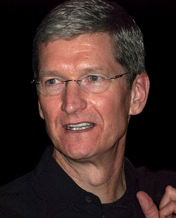 Tim Cook at Macworld Expo 2009. Courtesy Valery Marchive (LeMagIT)