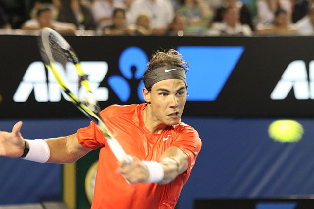 Rafael Nadal at the 2011 Australian Open.  Will recent injuries and illness prevent him from being match-ready for the 2015 tournament? Photograph by Christopher Johnson.