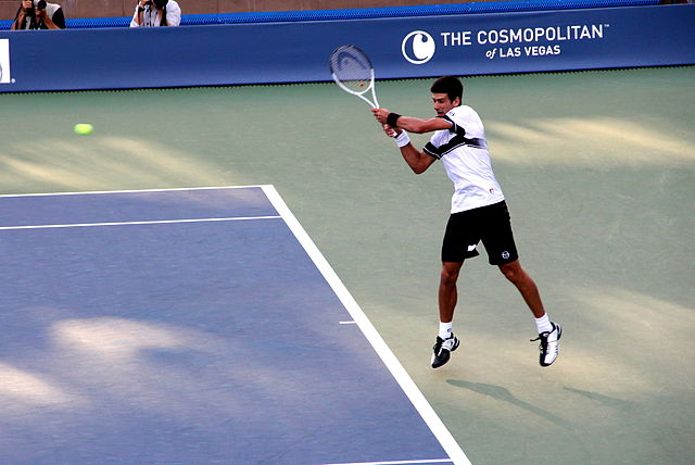 Novak Djokovic at the 2010 US Open, the year before it all happened for him.