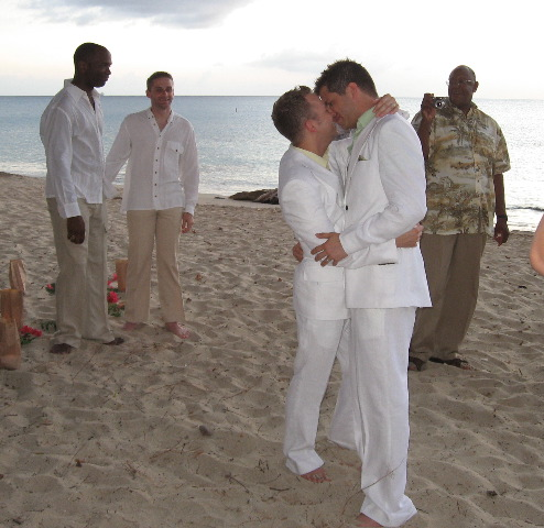 A same-sex wedding in 2006