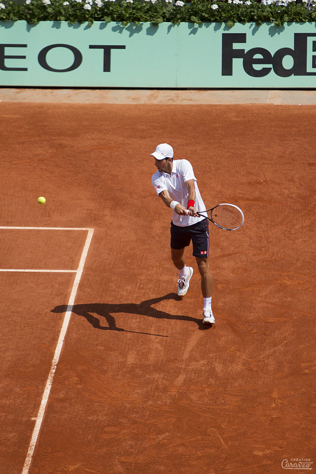 Novak Djokovic at the French Open in 2012, when played in his first final there. Can he win this year?
