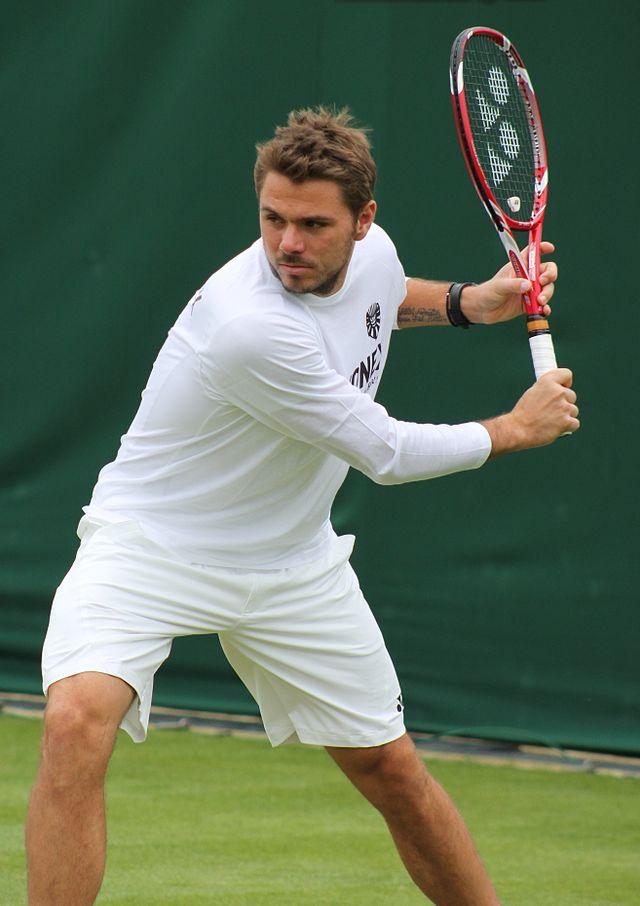 Stan Wawrinka at Wimbledon in 2013