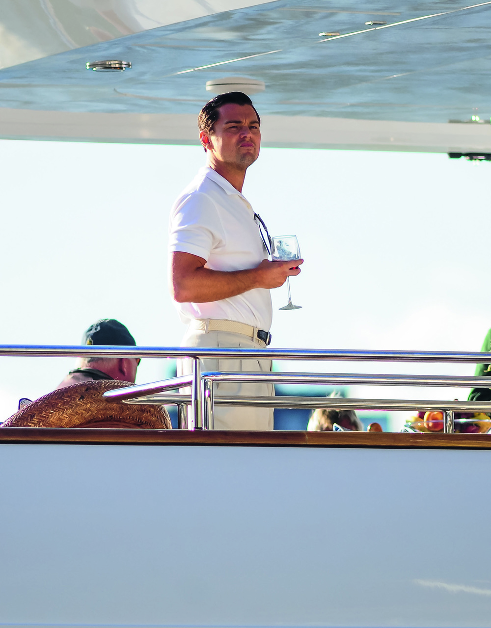© The Stylish Life - Yachting, published by teNeues, www.teneues.com. Leonardo DiCaprio films The Wolf of Wall Street with Martin Scorsese on a yacht in New York City, Photo © J.B. Nicholas/Splash News/Corbis.