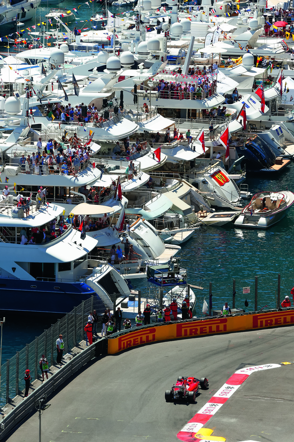 © The Stylish Life - Yachting, published by teNeues, www.teneues.com. FIA Formula One World Championship 2014, Grand Prix of Monaco, Photo © Hoch Zwei/Corbis.