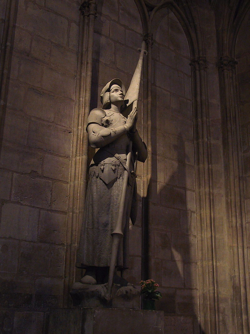 Joan of Arc in Notre-Dame de Paris