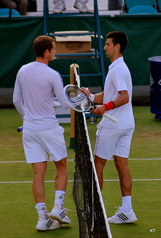 Andy Murray and Novak Djokovic, seen here in 2012, continued their rivalry at the BNP Paribas Masters in Paris, where Djokovic prevailed Sunday.